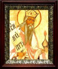 Захария, пророк (19х22), темный киот
