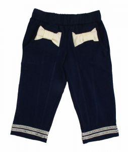брюки для девочки черные