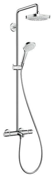 Душевой комплект Hansgrohe Croma Select E 180 2jet Showerpipe 27352400