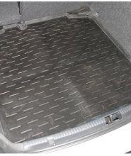 """Коврик (поддон) в багажник, Aileron, полиуретановый черный, без """"ушей"""""""