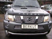 Защита переднего бампера, Berkut, нерж. сталь ф 76мм