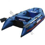 Лодка NISSAMARAN надувная, модель MUSSON 270, цвет синий  (дерев. пол) P/L