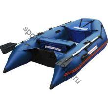 Лодка NISSAMARAN надувная, модель MUSSON 290, цвет синий  (дерев. пол) P/L