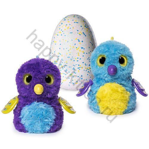 Яйцо Хечималс питомец фиолетовый/голубой