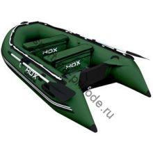 Лодка HDX надувная, модель OXYGEN 300 AL, цвет зелёный