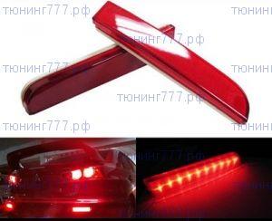 Катафоты заднего бампера, LED светодиодные красные, к-кт