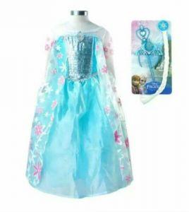 Эльзы  платье костюм ( Холодное торжество) с аксессуарами 4 года ( 110 см)