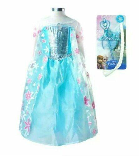 Платье костюм Эльзы Холодное сердце ( Холодное торжество) с аксессуарами