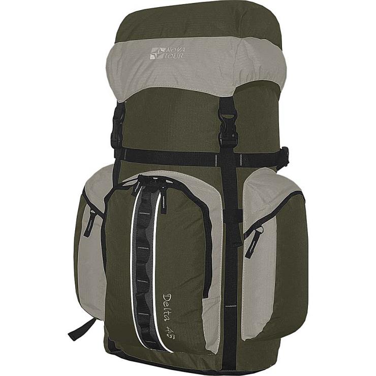Рюкзак  NovaTour  Дельта 45 N серый/олива