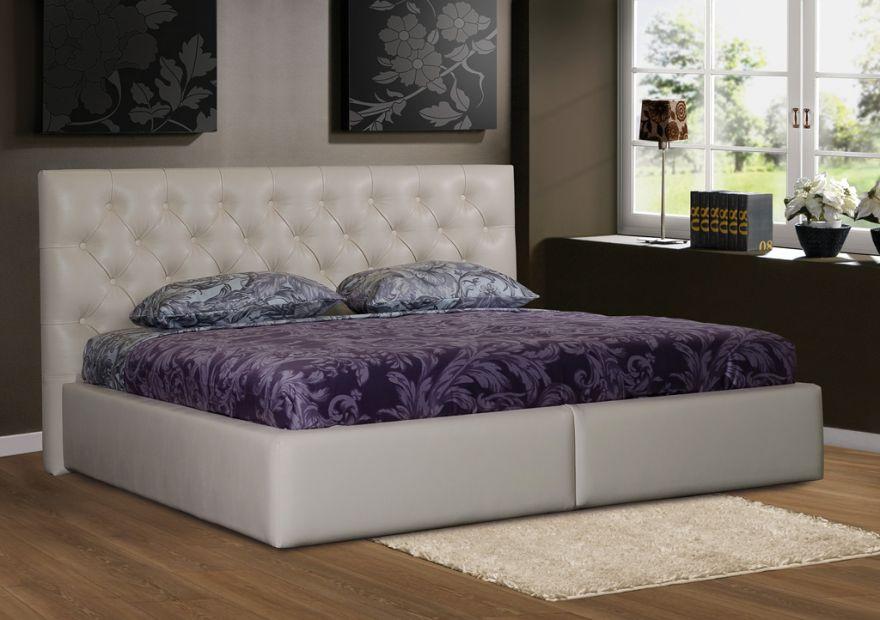 Кровать Люксор 4К с бельевым ящиком | Диамант-М