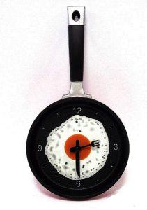 Часы настенные сковородка