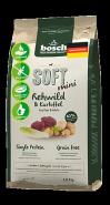 Bosch Soft Mini с косулей и картофелем Полнорационный корм для взрослых собак маленьких пород с чувствительным пищеварением (2,5 кг)