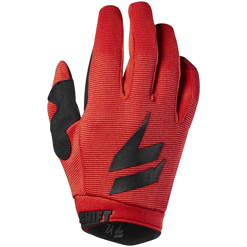 Shift - 2018 Whit3 Air Youth перчатки подростковые, черно-красные