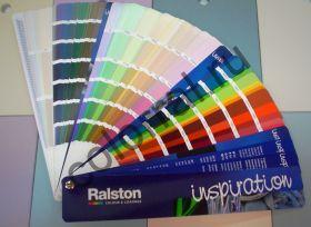 Веер цветов красок Ralston Inspiration New