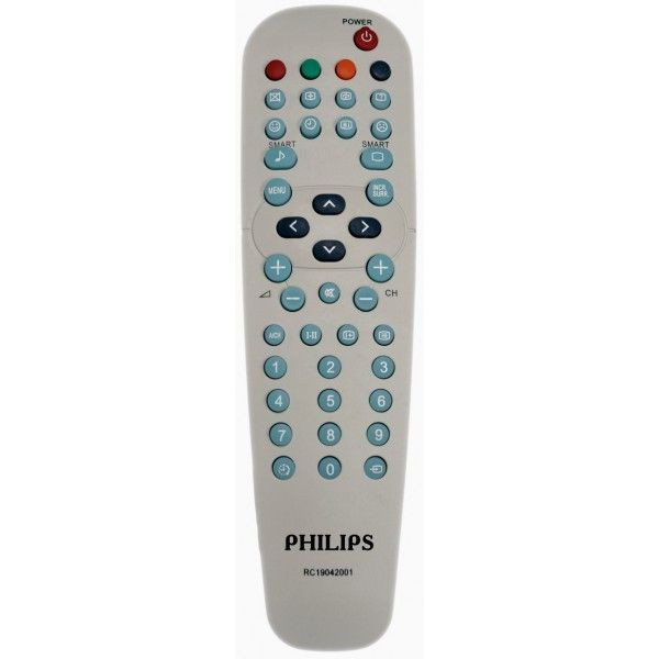 Philips RC19042001 (TV) (15PT2767, 21PT1617, 21PT1627/60, 21PT1717, 21PT3323/79R, 21PT5117/60, 21PT5121/60, 21PT5207/60, 21PT5217, 21PT5221S/60, 21PT5307/60, 21PT5317/60, 25PT3323/69R, 25PT5207/60, 25PT5307/60, 29PT2162/79R, 29PT3223/69R)