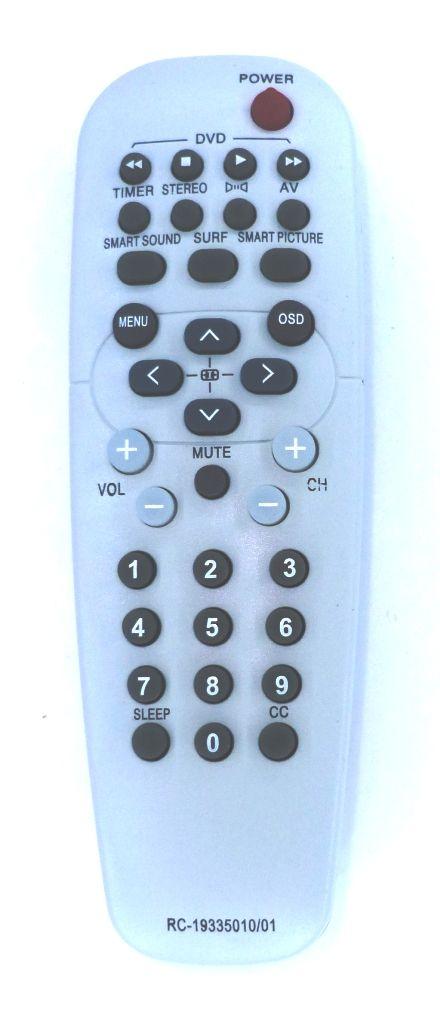 Philips RC19335010/01 (TV, DVD) (14PT3131/55R, 14PT4131/55R, 15PT5231/78R, 20PT3331/55R, 20PT4331/55R, 25PT5531/78R, 25PT5541/77, 28PW6431/55R, 28PW6441/77, 28PW6532/55R, 28PW6542/77, 29PT4631/55R, 29PT5632/55R)