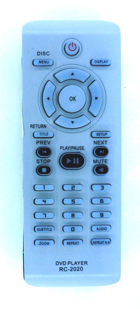 Philips RC2020 (DVD) плоский (DVP3040K, DVP3120, DVP3126X , DVP3144, DVP5960)