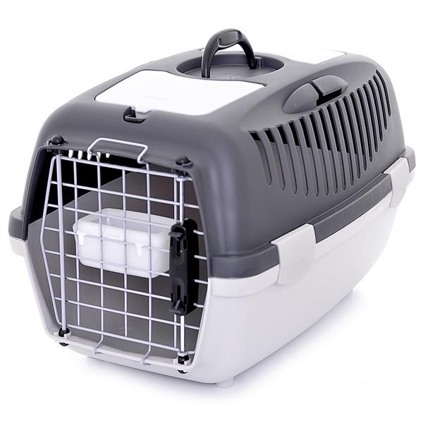 Переноска Stefanplast Gulliver 3 Delux до 12кг с металлической дверцей 61х40х38см для кошек и собак