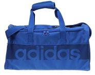 Сумка спортивная синяя Adidas Tiro 17 Linear Teambag M B46120