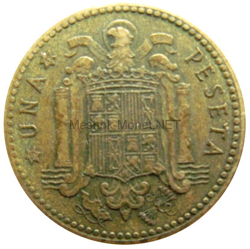 Испания 1 песета 1949 г.