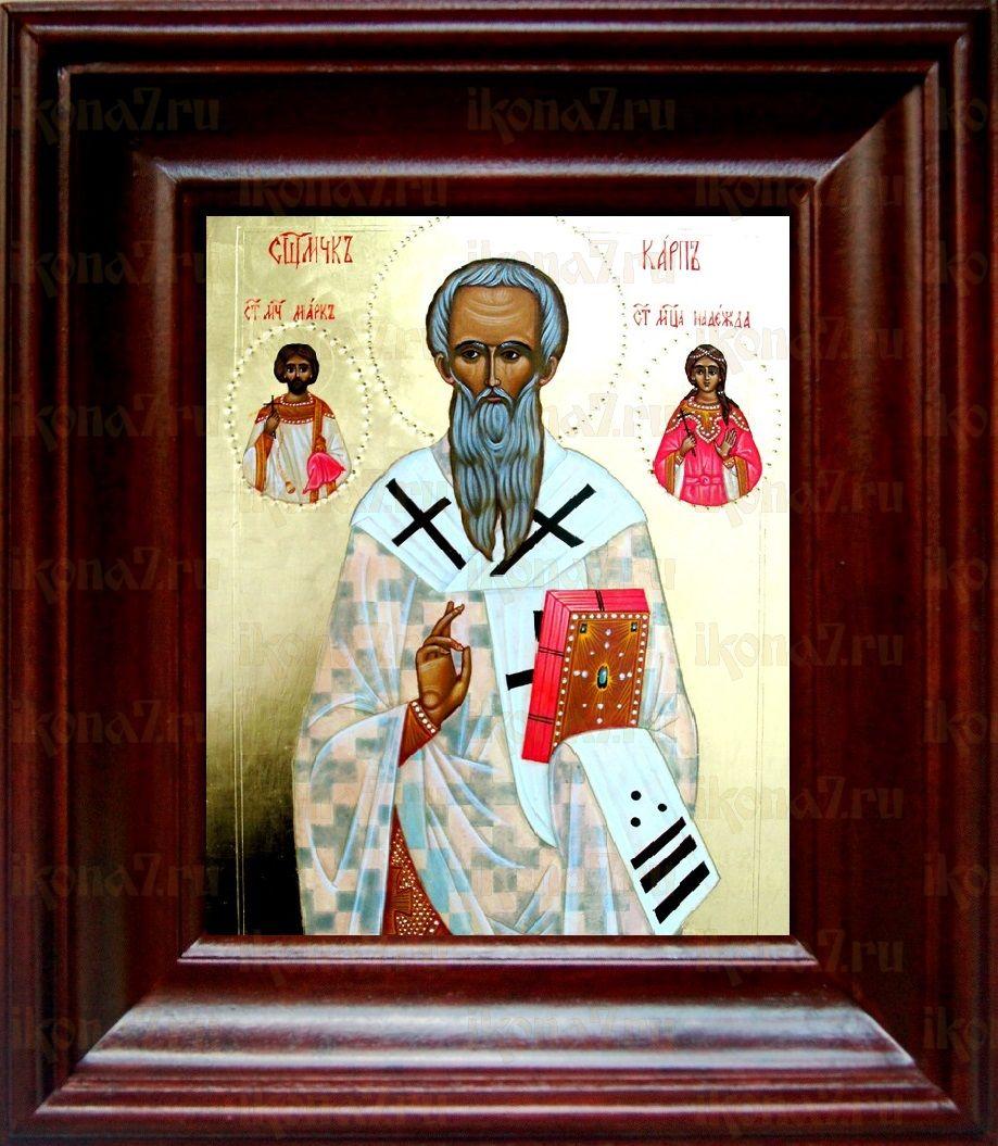 Карп, апостол от 70-ти (21х24), простой киот