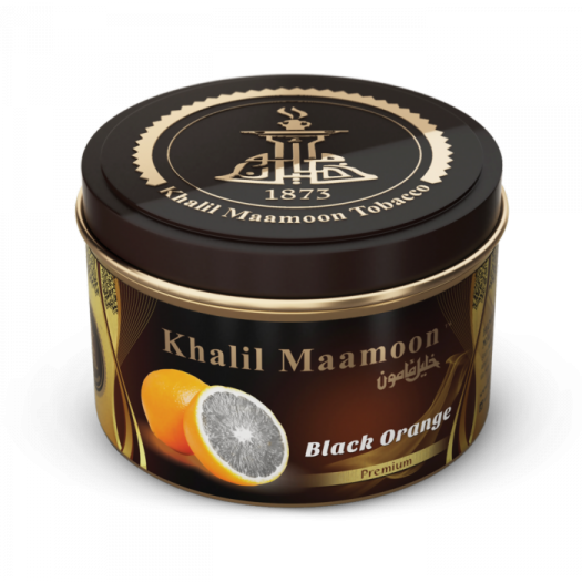 Табак для кальяна Khalil Maamoon 250 гр Black Orange