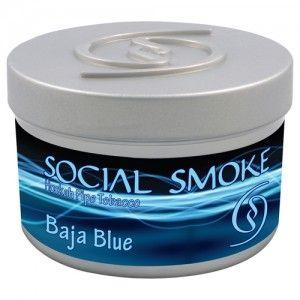 Табак для кальяна Social Smoke Baja Blue 250 гр