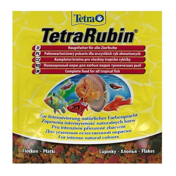 Корм Tetra Rubin Flocken хлопья 12гр для рыб для усиления насыщенности окраса
