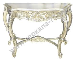 Стол-консоль Варезе серебро