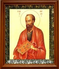 Павел, апостол (19х22), светлый киот