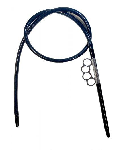 Шланг для кальяна Levsha силиконовый с кастетом 150см
