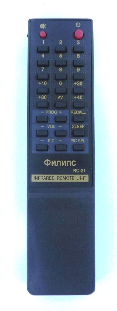 Philips RC21 (TV) (14GX37А, 14СX37А, 20CX51A, CTV8148, CTV8208, CTV8211)