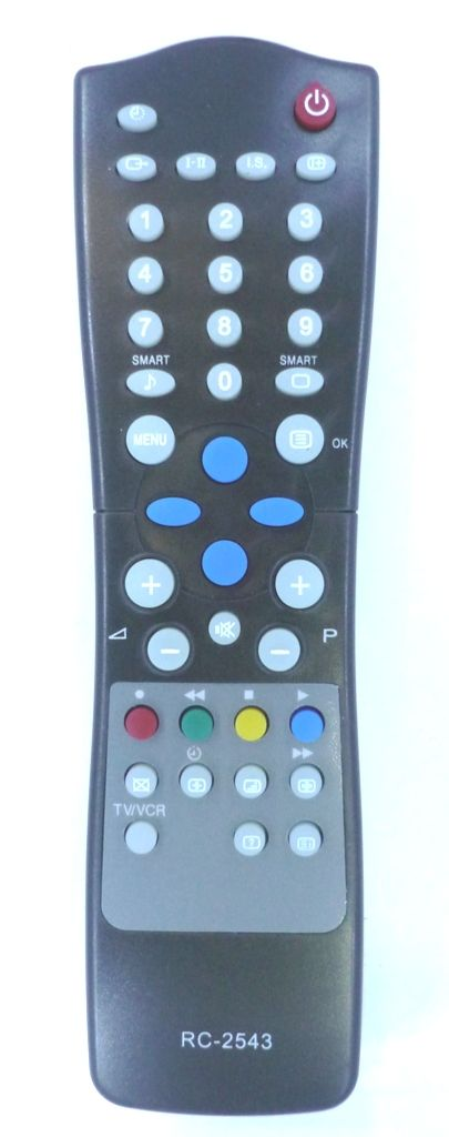 Philips RC2543 (TV) (14PT1565, 14PT2665, 21PT1664, 21PT1865, 21PT2264, 21PT2265, 21PT2664, 21PT2665, 21PT2684, 21PT4425, 21PT4455, 21PT4456, 21PT4475, 21PT5305, 21PT5405, 21PT5406, 21PT5505, 25PT4275, 25PT4456, 25PT4475, 25PT4655, 25PT5025)
