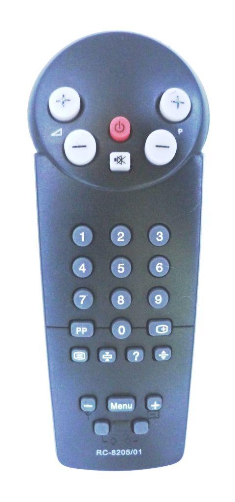 Philips RC8201/01,  8205/01 (TV) (14PT1322, 14PT1323, 14PT1332, 14PT1342, 14PT1345, 14PT1352, 14PT1353, 14PT1363, 14PT1372, 14PT1374B,C,S, 14PT1521, 14PT1532, 14PT1553, 14PT1558, 14PT1560, 14PT1562, 14PT1563, 14PT1573, 14PT1574, 14PT2594, 14PT2658)