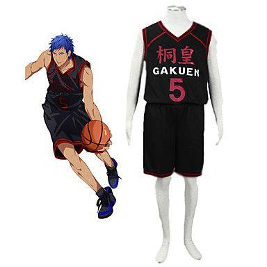 Баскетбольная форма Aomine Daiki
