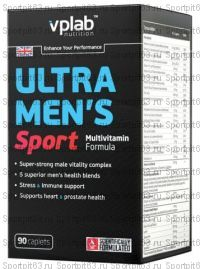 ULTRA MEN'S SPORT, УЛЬТРА МЕНC СПОРТ 90 КАПС VPLAB