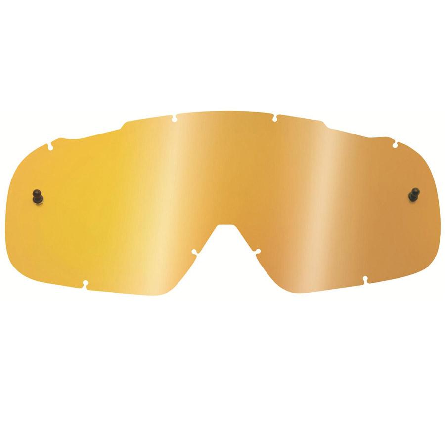 Fox - 2018 Air Defence lenses Gold Spark линза зеркальная, золотая