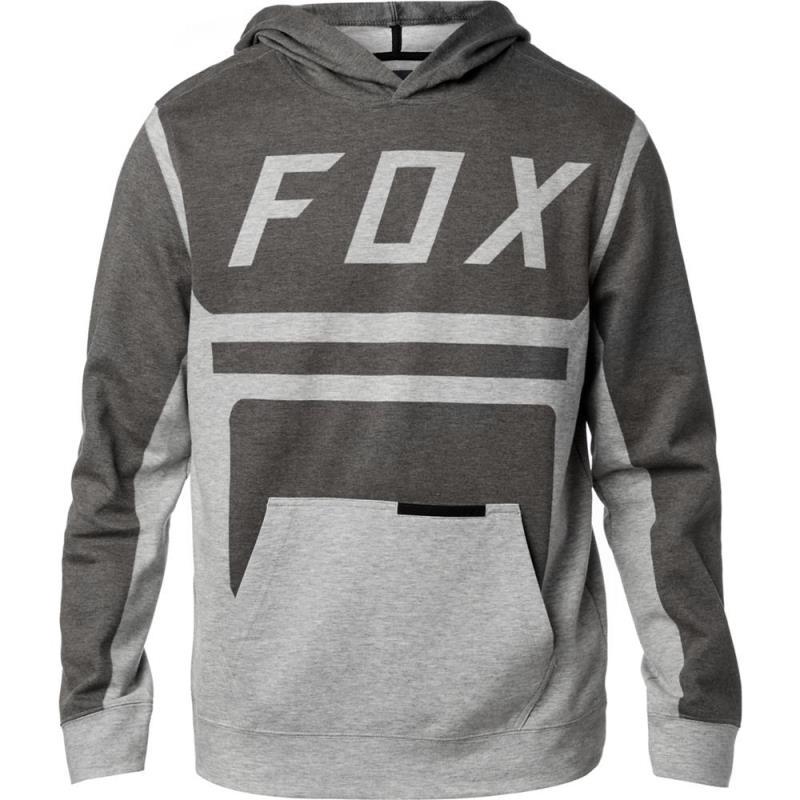 Fox - Moth Pullover Fleece Black толстовка, черная