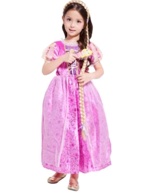 Платье костюм Рапунцель с аксессуарами