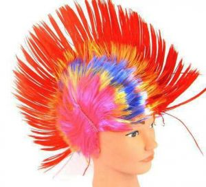 Парик Ирокез разноцветный