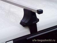 Багажник на Skoda Fabia 2007г-... хэтчбек/универсал (Атлант, Россия), прямоугольные дуги