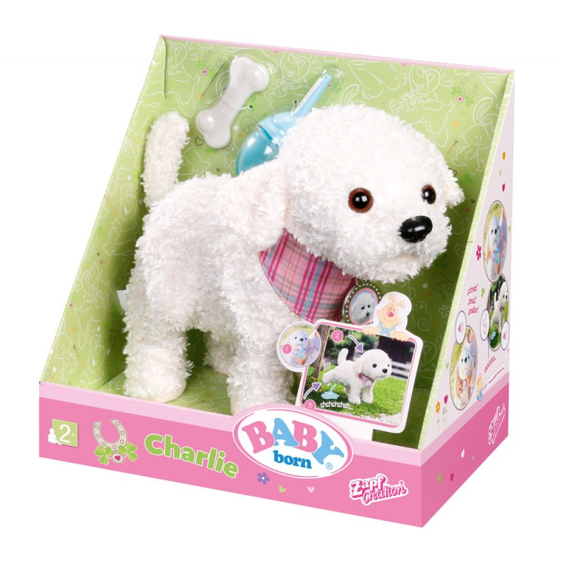 Интерактивная собачка Baby born Zapf Creation 823668