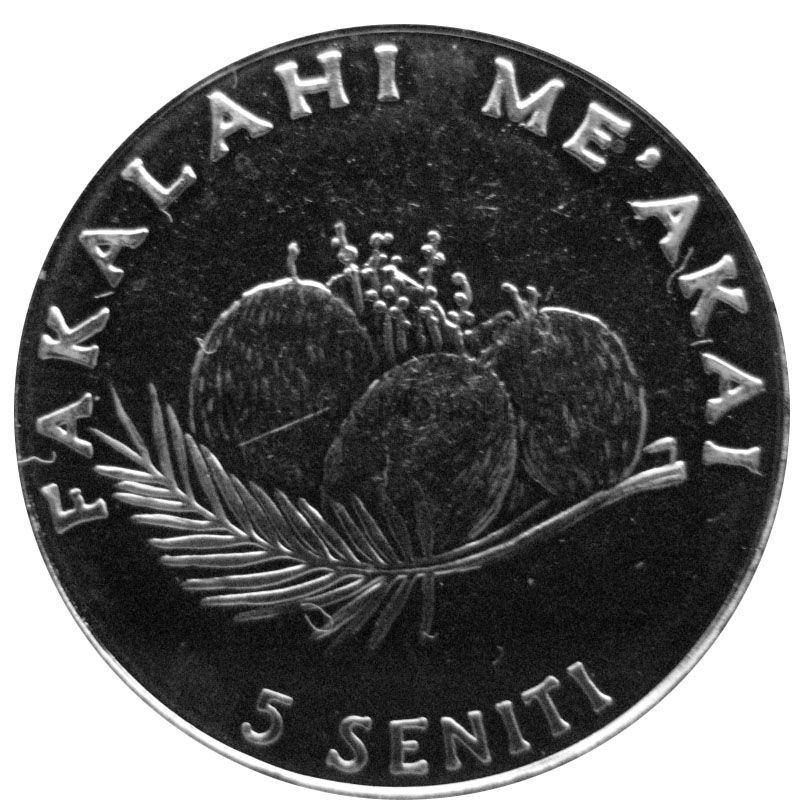 Тонга 5 сенити 2005 г.
