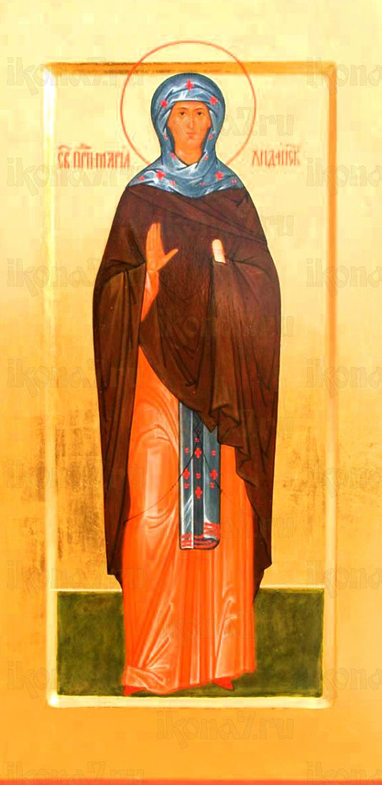 Мария Хиданская (рукописная икона)