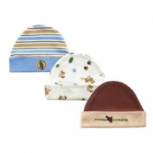 Комплект шапочек 50405 Hudson Baby