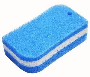 671265 Губка для ванной (трехслойная) 1шт/упак