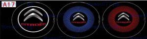 """LED проекция логотипа, """"приветственный свет"""", к-кт на 2 двери, 3 варианта"""