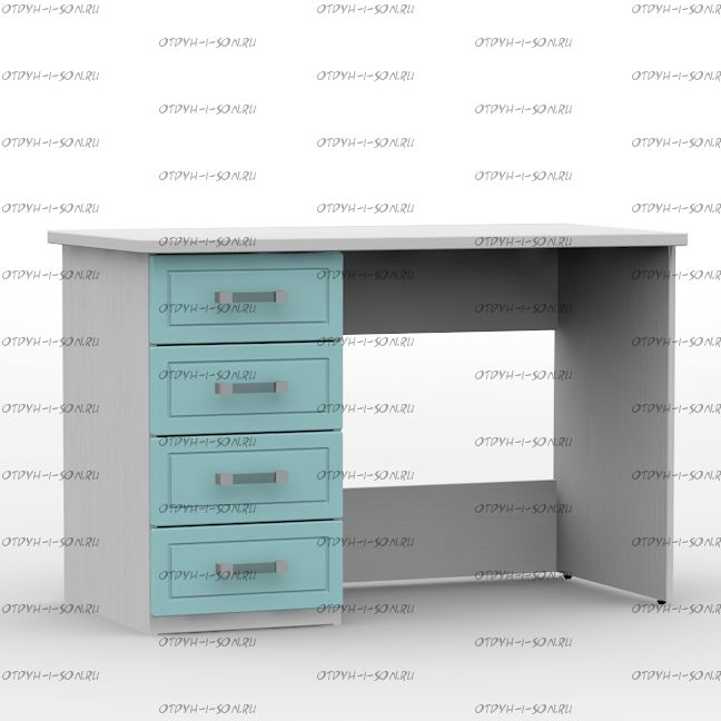 Стол письменный 1180 Teen`s Home 2 / Lite (118х62х77)