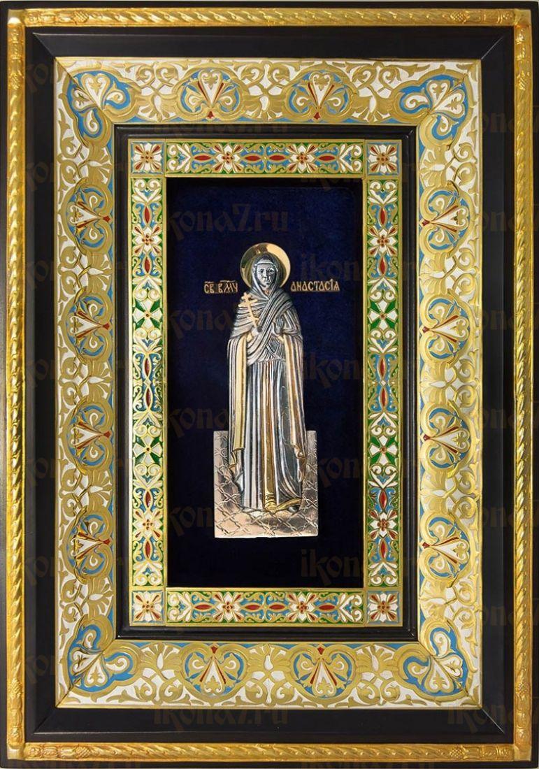 Анастасия Узорешительница (29х40), серебро