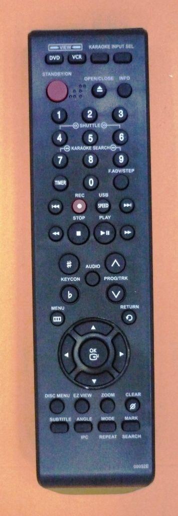 Samsung 00052E (DVD/VCR) (DVD-V7100K, DVD-V7600K)